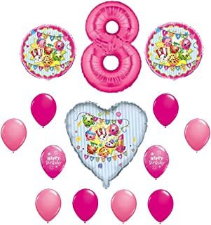 SHOPKINS 8th Eighth BIRTHDAY PARTY Balloons Decorations Supplie