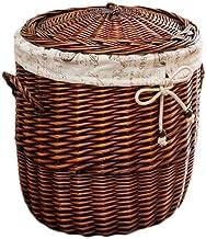 Special/Simple Storage Basket Rattan Dirty Clothes Basket Dirty Clothes Basket Toy Dirty Clothes Storage Basket Clothes La...