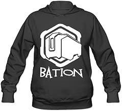 Overwatch Women's Bation Hoodies Sweatshirt Black