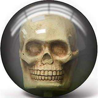 Pyramid Clear Skull Bowling Ball