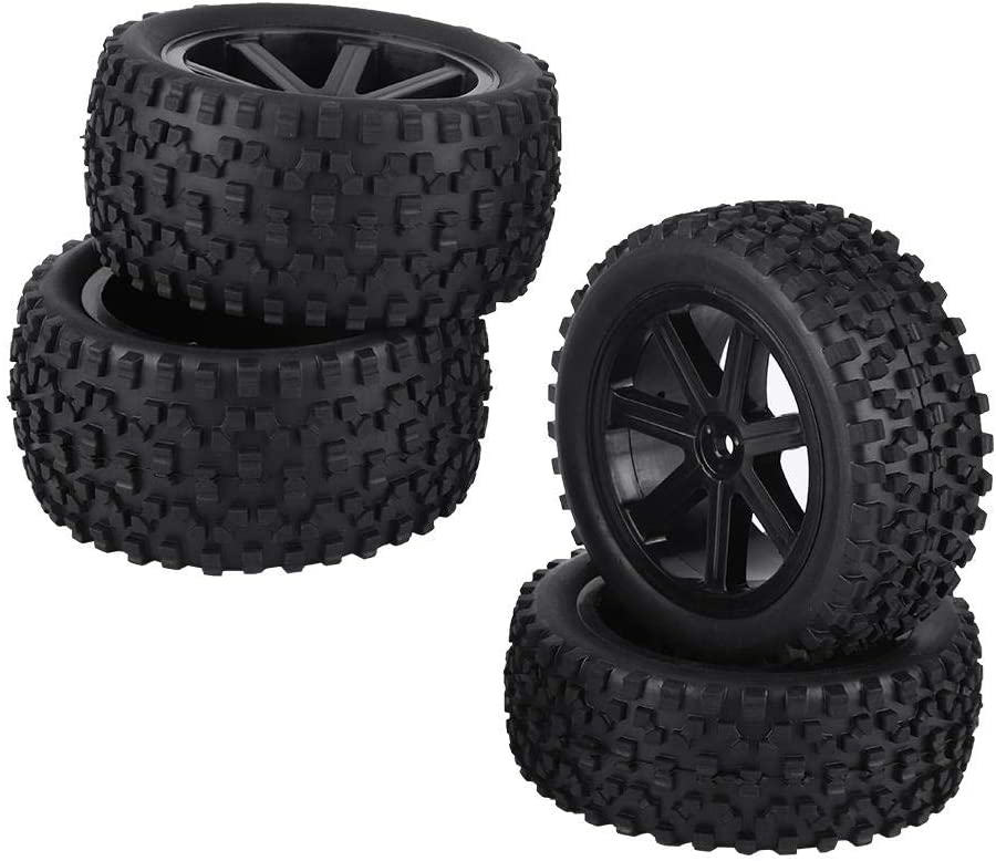 Dilwe RC Reservation Car New popularity Rubber Tire 4pcs Wheel Tyre Truck A
