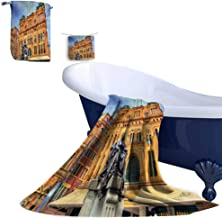 Leigh home Cotton Towel Set,Queen Victoria buil in Sydney Built in Australia New South Wales Great for The Bath, Pool, or Beach