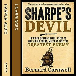 Couverture de Sharpe's Devil: Napoleon and South America, 1820 - 1821