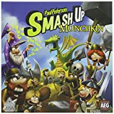 Alderac Entertainment Group Juego de Cartas Smash-Up Munchkin