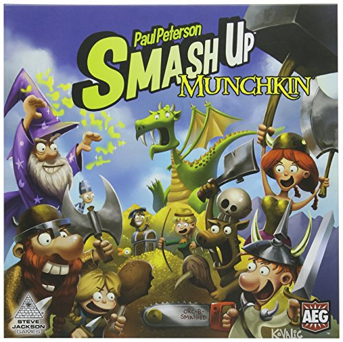 Alderac Entertainment ALD05508 - Brettspiele, Smash Up Munchkin