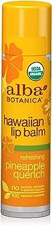 Alba Botanica Refreshing Pineapple Quench Hawaiian Lip Balm, 0.15 oz.
