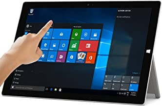 Microsoft Surface Pro 3 Tablet (12-inch, 256 GB, Intel Core i5, Windows 10) + Microsoft Surface Type Cover (Renewed)