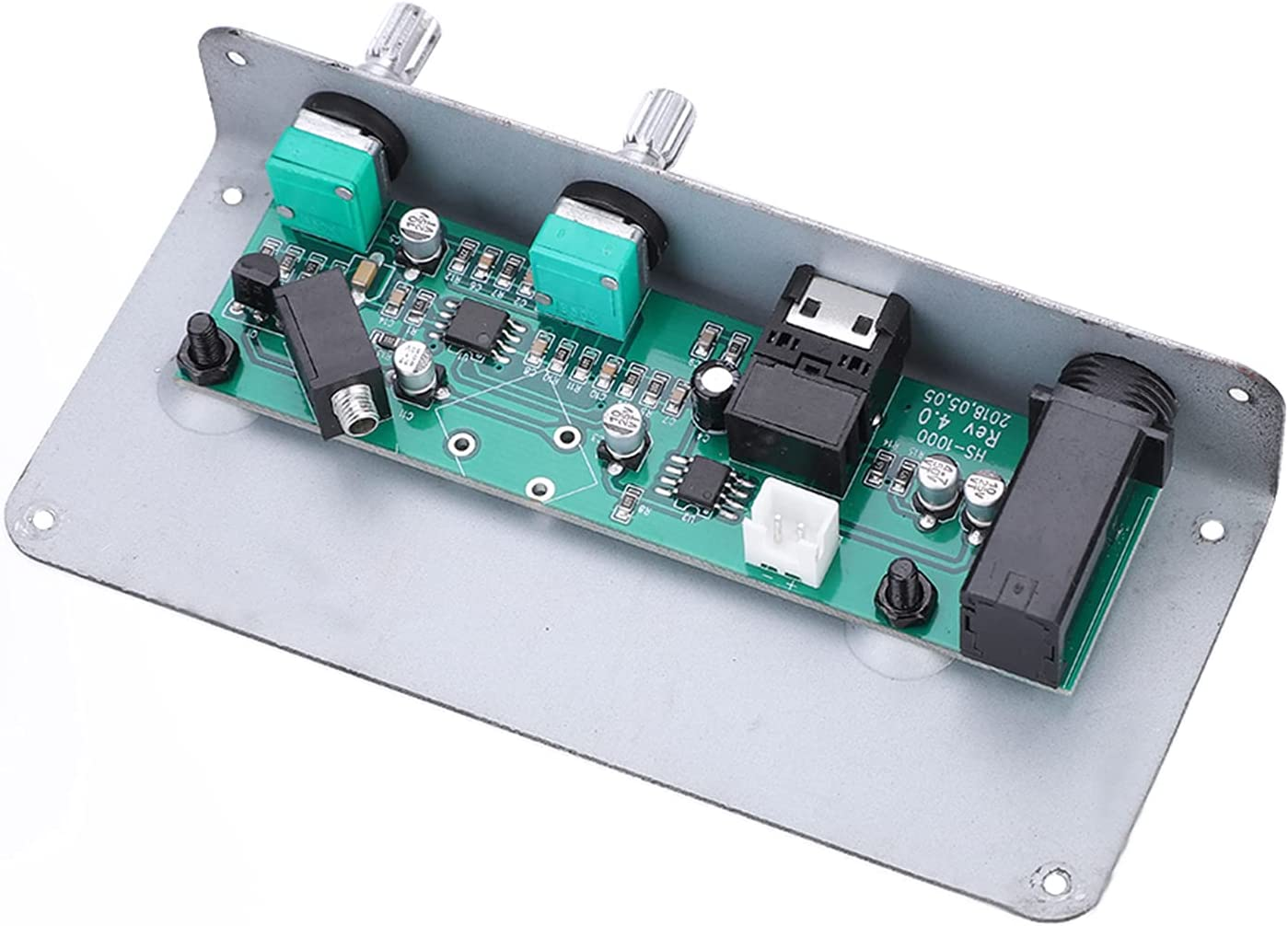 Pastilla EQ de guitarra, SG-20 Pastilla de orificio de sonido magnético de Metal + Plástico DIY Piezas de guitarra silenciosas Larga vida útil para guitarra acústica