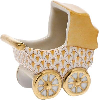 Amazon.com: Herend carriola de bebé Figura decorativa ...