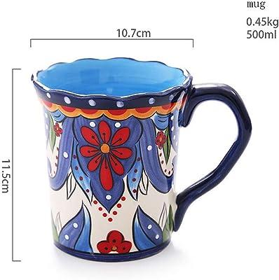 Amazon.com: Norpro – 83 Azul & Blanco Cerámica Tres (3) qt ...