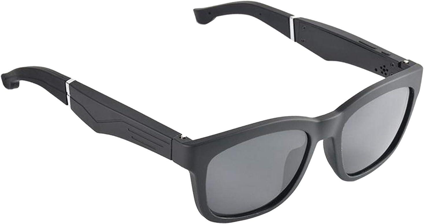 Gazechimp Audio Eyeglasses Smart Music Headset Glasses for Smart Phones,Easy to Make Phone Calls