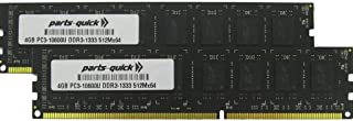 8GB (2 X 4GB) メモリアップグレード ASUS P8 マザーボード P8Z68-V PRO/GEN3 DDR3 PC3-10600 1333MHz DIMM RAM (PARTS-QUICK ブランド)