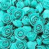 バラクマ50/100/200個バラのクマ3cm泡結婚式の装飾用花クリスマスの装飾家のDiyギフト造花-18-50個、