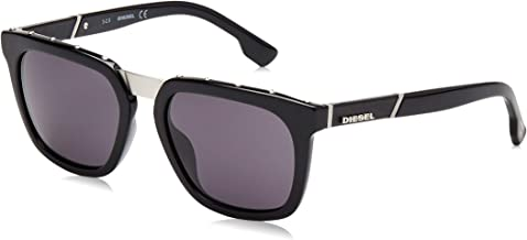Diesel Wayfarer Men'S Sunglasses