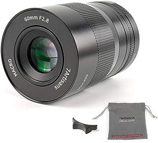 7artisans 60 mm F2.8 Makro APS C Manueller Fokus Objektiv weitgehend für kompakte spiegellose M4/3 MFT Mount Kameras für Panasonic GF1 GF2 GF3 GF5 GF6 GF7 GF8 GF9 G1 G2 G3 G4 G5 G6 G85 GH1 GH4 GH5