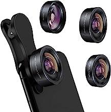 لنز دوربین آیفون 3 در 1 لنز تلفن ، 198 لنز Fisheye 120 لنز فوق العاده زاویه باز 20 برابر لنز ماکرو برای گوشی هوشمند آندروید آندروید سامسونگ