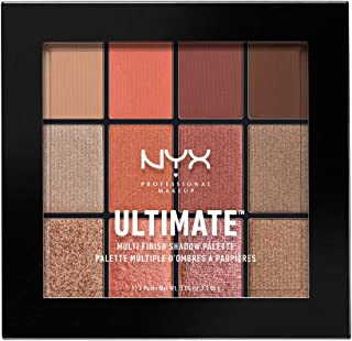 Best nyx ultimate multi finish eyeshadow palette #warm rust Reviews