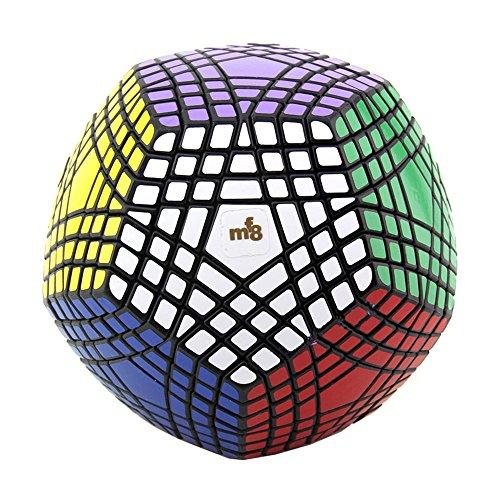 HJXDtech-Dayan MF8 Nouveau irrégulière Magic Cube 7x7x7 Megaminx Vitesse Cube