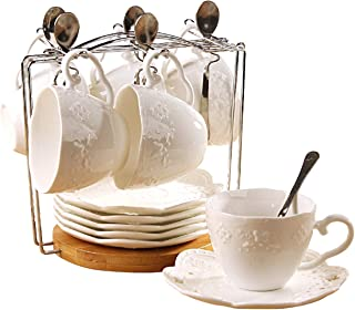 Best antique tea cup and saucer sets Reviews