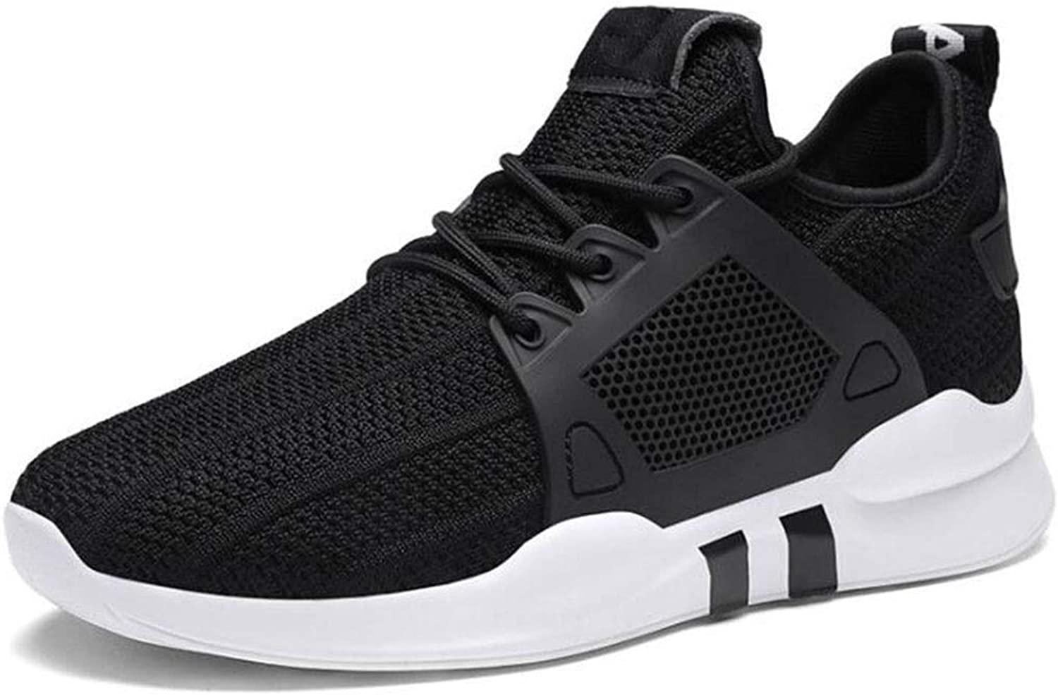 Women's Sneakers Women's Lightweight Casual Running SneakersYouth Girls Tennis shoes Women's Casual Walking shoes,Casual Mesh-Comfortable Work shoes (color   Black, Size   7 US)