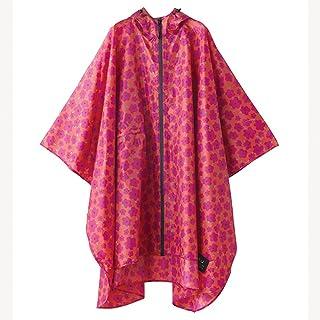 ワールドパーティー(Wpc.) レインコート キウ(KiU) ポンチョ ハナ ピンク フリーサイズ K29-043