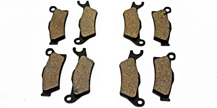 Cycle ATV - Front & Rear Brakes Brake Pads fits Can-Am Renegade 500 800R XXC 1000