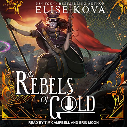 The Rebels of Gold audiobook cover art