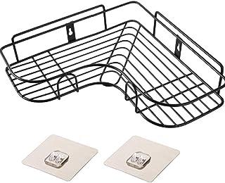 zyh1229 – Estante para baños botellero estantería de boxeo soporte de pared perforado ángulo de aspiración estante de...