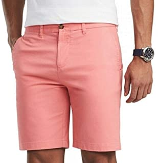 Mens Classic Fit Flat Chinos Shorts