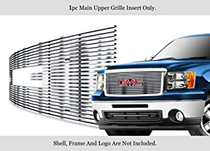 APS Compatible with 2007-2013 GMC Sierra Denali 1500 Stainless Steel Chrome Billet Grille G66474C