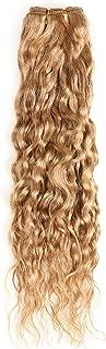 honey blonde wet and wavy weave