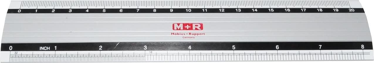 20 cm Architekt leicht zu lesen Zoll und Zentimeter direkt 15 cm ideal f/ür Schule GLOBALDREAM Globaldream 3 St/ück Aluminium Metall Lineal Kit Ingenieure 30 cm B/üro Handwerk