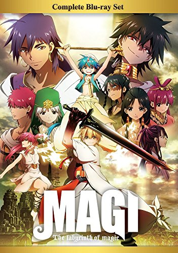 Magi the Labyrinth of Magic Set
