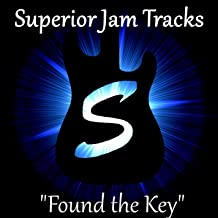 Found the Key Funk Guitar Backing Track in a Minor