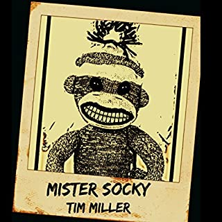 Mister Socky audiobook cover art