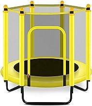 HMBB Trampolines 48 inch Outdoor & Indoor Opvouwbaar met behuizing Net en Safety Jumping Mat Cover  Verjaardagsgeschenken ...