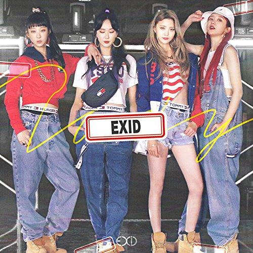 BananaCulture Entertainment EXID - Do It Tomorrow (2nd Single Album) CD+Photobook+Photocard+Postcard+Name Sticker+Film Photo+Folded Poster