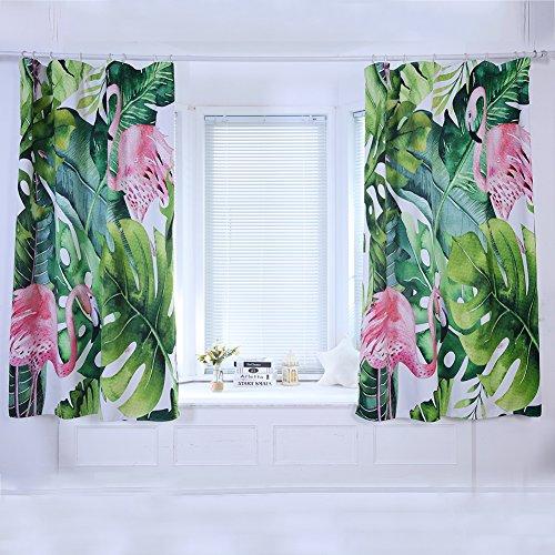 cortinas dormitorio flamencos