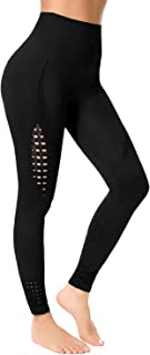 High Waisted Workout Seamless Leggings for Women, Tummy Control Running Gym Compression Yoga Pants