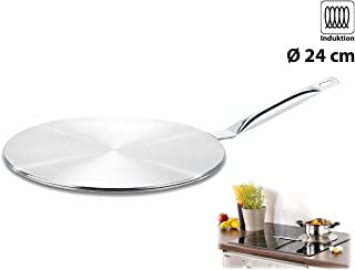 Rosenstein & Söhne–Adaptador inducción Placa: Universal Placa de Adaptador para inducción, 24cm (Inducción Adaptador)