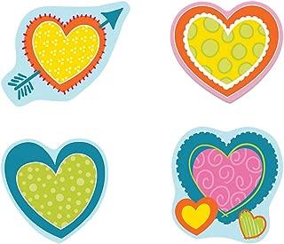 Carson Dellosa – Hearts Colorful Cut-Outs, Classroom Décor, 36 Pieces