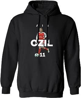 SMARTZONE Arsenal Mesut Ozil Air Ozil Soccer Men's Hoodie Sweatshirt