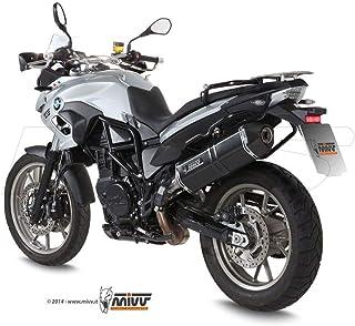 MIVV Speed Edge Stahl schwarz F 700 GS 2012 2016