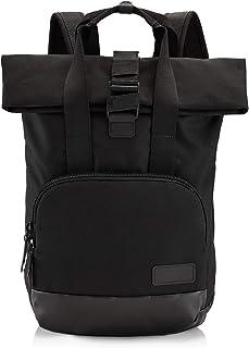"Crumpler Algorithm Roll-Top Backpack, 15"" External Laptop Sleeve, Black"