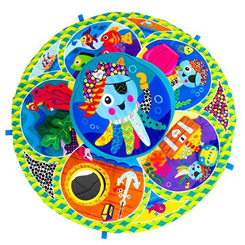Lamaze - Gimnasio de jardín, gira y explora (Bizak 30697100) , color/modelo surtido