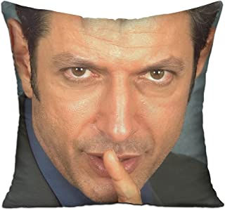 Goddess Aalto Jeff Goldblum Don't talk Custom Pillow Covers Standard Size Throw Pillow Cases Decorative Cotton Linen Pillowcase Protecter With Zipper - 18x18 Inch