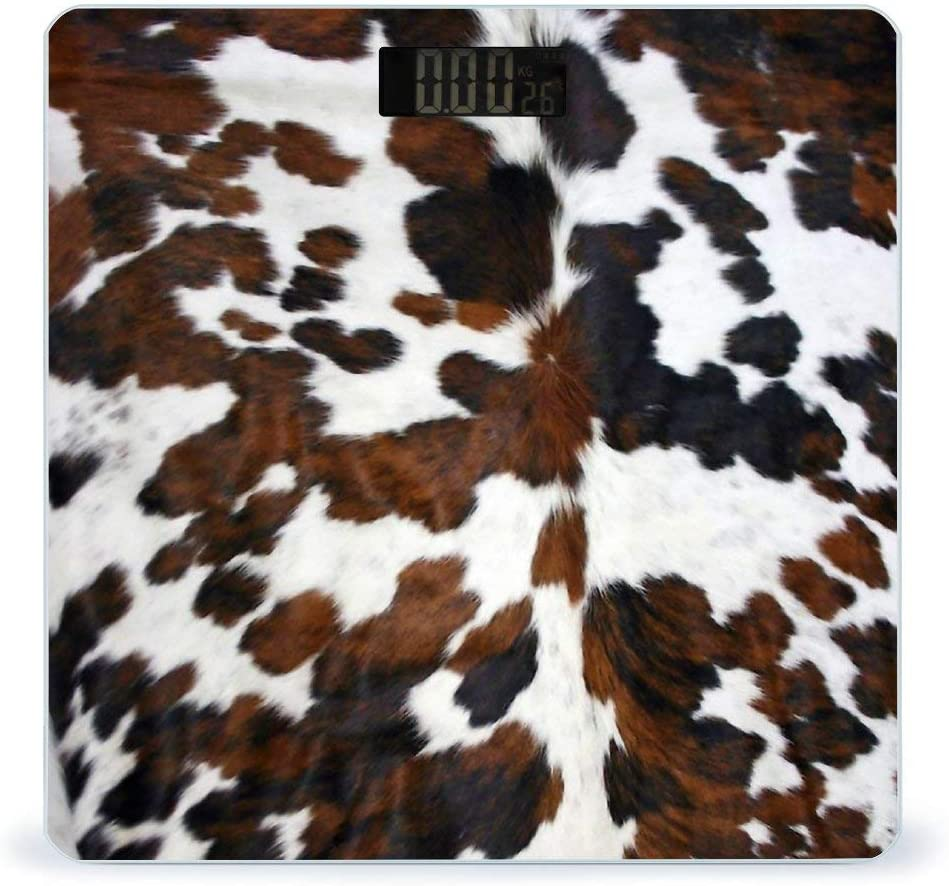 CHUFZSD Recommended Cowhide Tan Black and Sma Texture Accurate White Max 64% OFF Highly