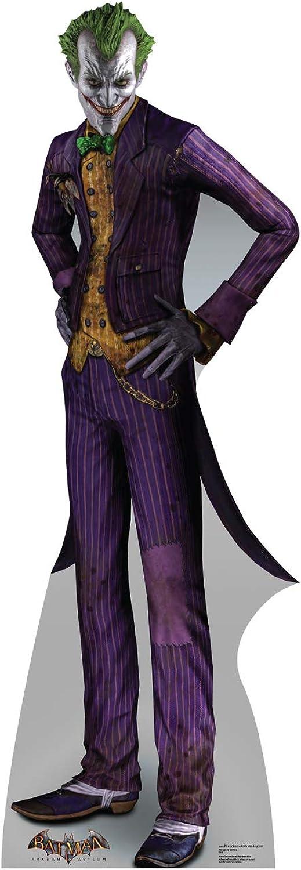 Advanced Graphics The Joker Life Size Cardboard Cutout Standup - Batman  Arkham Asylum