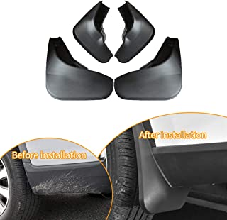 Upgraded Tire Mud Flaps Auto Splash Guards for 2011-2016 Suzuki Swift Front Rear Mudguards Wheel Accessories Styling & Body Fittings 4Pcs Black