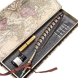 kikkerland feather pen